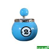 Weekend Пепельница «Двойка» (керамическая), интернет-магазин товаров для бильярда Play-billiard.ru