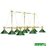 """Лампа на девять плафонов """"Art Design"""", интернет-магазин товаров для бильярда Play-billiard.ru"""