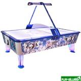 Wik Аэрохоккей «Kick Shot» 8 ф (238 х 128 х 83 см, цветной, жетоноприемник/купюроприемник), интернет-магазин товаров для бильярда Play-billiard.ru