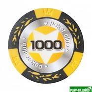 Набор для покера Black Stars на 500 фишек, интернет-магазин товаров для бильярда Play-billiard.ru. Фото 9