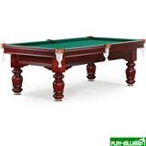 Weekend Бильярдный стол для русского бильярда «Classic II» 8 ф (махагон), интернет-магазин товаров для бильярда Play-billiard.ru