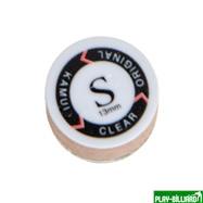 Kamui Наклейка для кия «Kamui Clear Original» (S) 13мм, интернет-магазин товаров для бильярда Play-billiard.ru. Фото 2