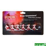 Red Machine Комплект игроков с шайбой «Юниор мини» (красный), интернет-магазин товаров для бильярда Play-billiard.ru