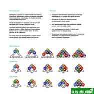 Weekend Комплект трафаретов для установки шаров 57,2мм (пул), интернет-магазин товаров для бильярда Play-billiard.ru. Фото 3