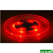 Weekend Шайба для аэрохоккея LED «Atomic Lumen-X Laser» (прозрачная, красный светодиод) D65 mm, интернет-магазин товаров для бильярда Play-billiard.ru. Фото 4