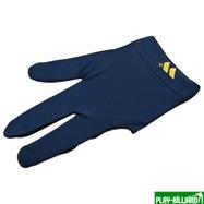 """Перчатка бильярдная """"WB"""" (черно-синяя), защита от скольжения, интернет-магазин товаров для бильярда Play-billiard.ru"""