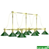 "Weekend Лампа на девять плафонов ""Art Design"", интернет-магазин товаров для бильярда Play-billiard.ru"