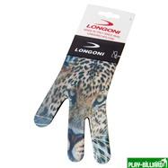 Longoni Перчатка бильярдная «Longoni Fancy Leopard», интернет-магазин товаров для бильярда Play-billiard.ru. Фото 3