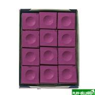 Weekend Мел «Silver Cup» (12 шт) розовый, интернет-магазин товаров для бильярда Play-billiard.ru. Фото 2