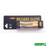 """Перчатка бильярдная """"Predator"""" (черно-желтая) L&XL, интернет-магазин товаров для бильярда Play-billiard.ru"""