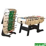 Weekend Настольный футбол (кикер) «Maccabi» (140x75x89, светлый, складной), интернет-магазин товаров для бильярда Play-billiard.ru
