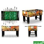 Weekend Настольный футбол (кикер) «Roma II» (140x76x87 см, цветной), интернет-магазин товаров для бильярда Play-billiard.ru. Фото 2