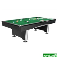Weekend Бильярдный стол для пула «Dynamic Triumph» 7 ф (черный) в комплекте, аксессуары + сукно, интернет-магазин товаров для бильярда Play-billiard.ru