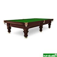 """Бильярдный стол / пирамида """"Hardy"""" 9 ф (черный орех, 6 ног, плита 38 мм), интернет-магазин товаров для бильярда Play-billiard.ru"""