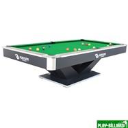 Weekend Бильярдный стол для пула «Victory II Plus» 8 ф (черный), интернет-магазин товаров для бильярда Play-billiard.ru. Фото 1
