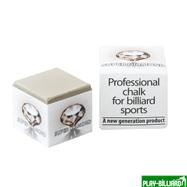 Weekend Мел  «Super Diamond Grey» (серый) белая коробка, интернет-магазин товаров для бильярда Play-billiard.ru
