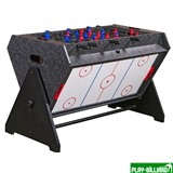 Weekend Стол-трансформер «Vortex 3-in-1» (3 игры: аэрохоккей, футбол, бильярд, 127 х 78.7 х 86.4 см, серый), интернет-магазин товаров для бильярда Play-billiard.ru