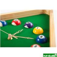 """Часы настенные """"Треугольник"""" (дуб) 40 см х 35 см, деревянные, интернет-магазин товаров для бильярда Play-billiard.ru. Фото 5"""