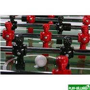 Настольный футбол (кикер) «Inter» (146 х 75 х 88 см, черный), интернет-магазин товаров для бильярда Play-billiard.ru. Фото 6