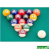 "Weekend Комплект шаров 57.2 мм ""Classic А-качество"", интернет-магазин товаров для бильярда Play-billiard.ru. Фото 2"