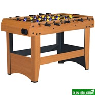Weekend Настольный футбол (кикер) «Express» (121x61x78.1 см, орех), интернет-магазин товаров для бильярда Play-billiard.ru. Фото 2
