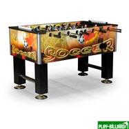 Настольный футбол (кикер) «Roma II» (140x76x87 см, цветной), интернет-магазин товаров для бильярда Play-billiard.ru. Фото 1