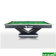 Weekend Бильярдный стол для пула «Victory II Plus» 9 ф (черный), интернет-магазин товаров для бильярда Play-billiard.ru. Фото 2