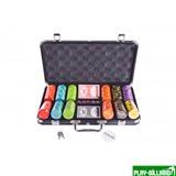Набор для покера Compas на 300 фишек, интернет-магазин товаров для бильярда Play-billiard.ru