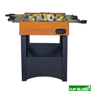 Weekend Настольный футбол (кикер) «Express» (121x61x78.1 см, орех), интернет-магазин товаров для бильярда Play-billiard.ru. Фото 3
