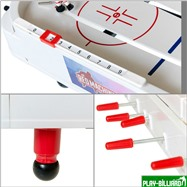 Red Machine Настольный хоккей «Форвард» (71 x 41 x 17 см, цветной), интернет-магазин товаров для бильярда Play-billiard.ru. Фото 7