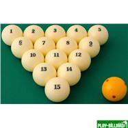 "Aramith Saluc Комплект шаров 68 мм ""Super Aramith Pro"", интернет-магазин товаров для бильярда Play-billiard.ru. Фото 2"