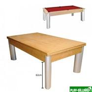 Weekend Бильярдный стол для пула «Toledo» 7 ф (дуб) со столешницей, в комплекте аксессуары, плита 19mm 1 pc + сукно, интернет-магазин товаров для бильярда Play-billiard.ru