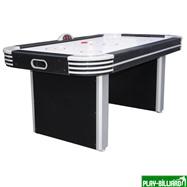 Atomic Аэрохоккей «NEON-X» 6 ф (183 х 102 х 79 см, черный), интернет-магазин товаров для бильярда Play-billiard.ru. Фото 1