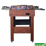 Weekend Настольный футбол (кикер) «Standart» (122x61x78.7 см, коричневый), интернет-магазин товаров для бильярда Play-billiard.ru. Фото 2