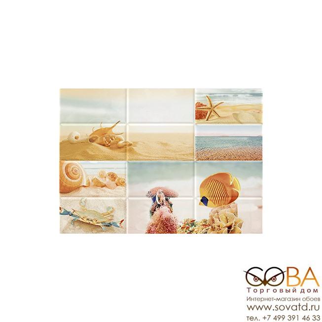 Декор Ocean Sea  2 (OC2M042DT) 25х35 купить по лучшей цене в интернет магазине стильных обоев Сова ТД. Доставка по Москве, МО и всей России