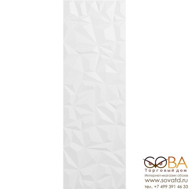 Декор Creto  Brilliant Crystal White W M/STR 30x90 R Satin 1 купить по лучшей цене в интернет магазине стильных обоев Сова ТД. Доставка по Москве, МО и всей России