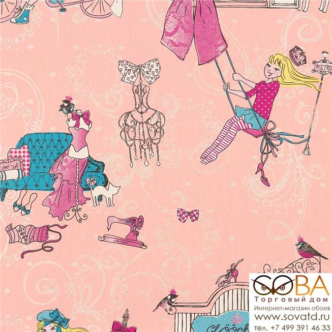 Обои Marburg 54149 Children's Paradise купить по лучшей цене в интернет магазине стильных обоев Сова ТД. Доставка по Москве, МО и всей России