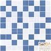 Мозаика Stripes  синий+серый 30х30, интернет-магазин Sportcoast.ru