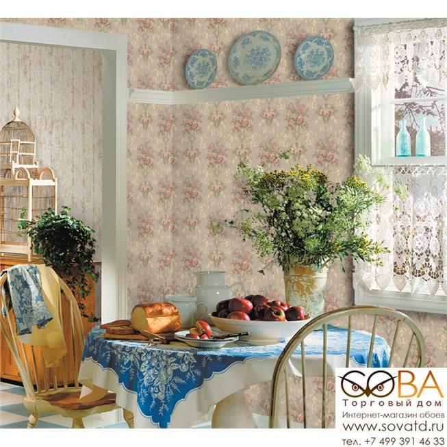 Обои Seabrook DR50507 Dorchester купить по лучшей цене в интернет магазине стильных обоев Сова ТД. Доставка по Москве, МО и всей России