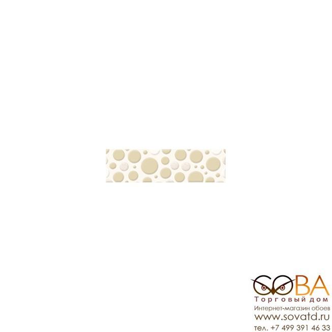 Бордюр Mozaika  светло-бежевый (C-MZ1A451) 6x20 купить по лучшей цене в интернет магазине стильных обоев Сова ТД. Доставка по Москве, МО и всей России