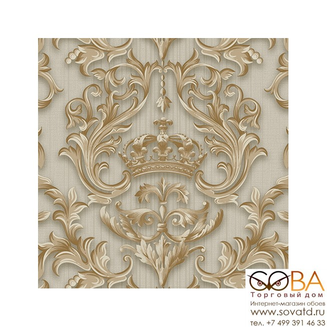 Обои Andrea Rossi Gorgona 54136-5 купить по лучшей цене в интернет магазине стильных обоев Сова ТД. Доставка по Москве, МО и всей России