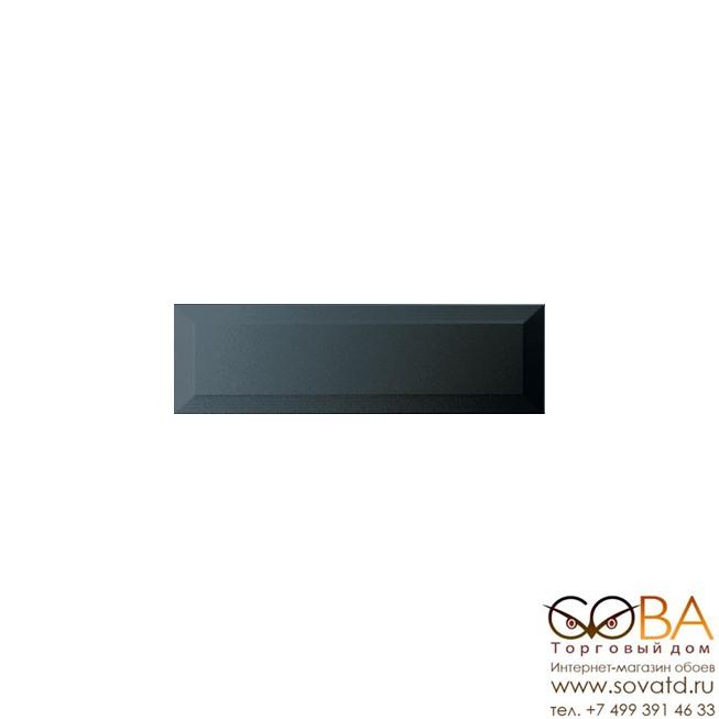 Плитка Гамма  настенная черный 9002 8,5х28,5 купить по лучшей цене в интернет магазине стильных обоев Сова ТД. Доставка по Москве, МО и всей России