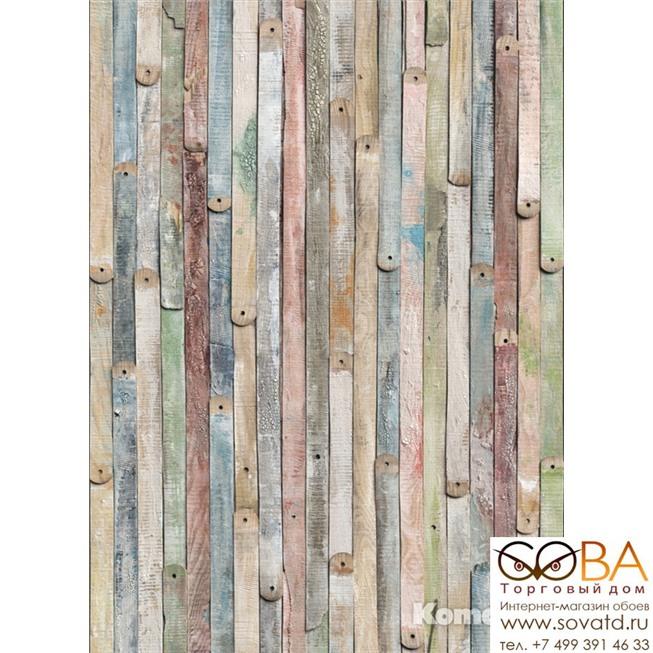 Фотообои Komar Vintage Wood артикул 4-910 размер 184 x 254 cm площадь, м2 4,6736 на бумажной основе купить по лучшей цене в интернет магазине стильных обоев Сова ТД. Доставка по Москве, МО и всей России