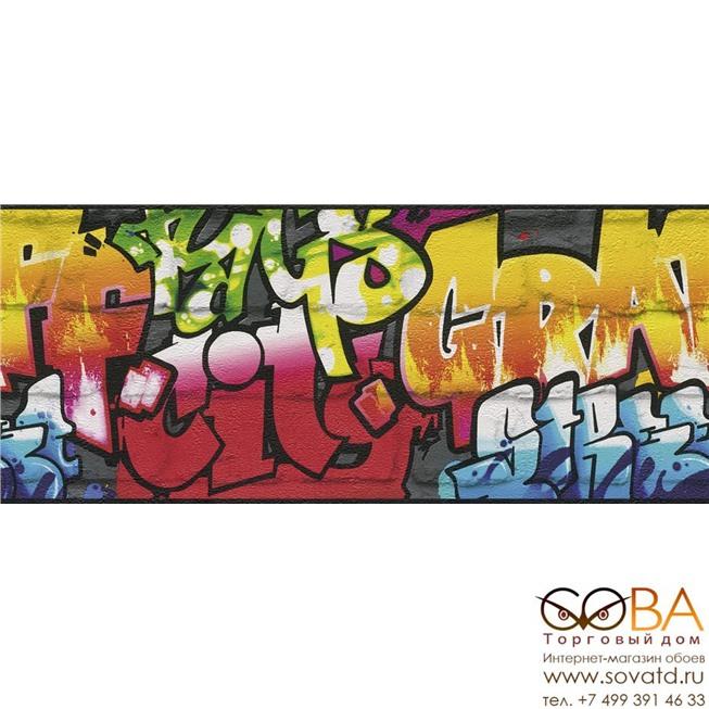 Бордюр Rasch 237900 Kids & Teens III купить по лучшей цене в интернет магазине стильных обоев Сова ТД. Доставка по Москве, МО и всей России
