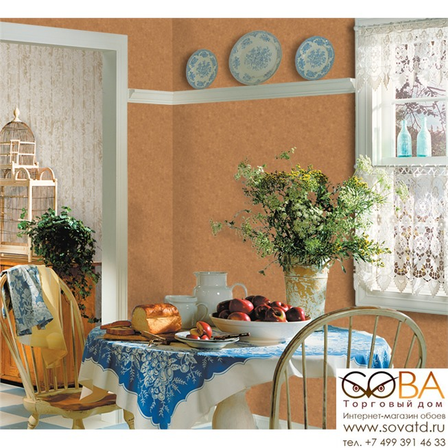 Обои Seabrook HT71405 Lanai купить по лучшей цене в интернет магазине стильных обоев Сова ТД. Доставка по Москве, МО и всей России