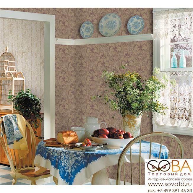 Обои Seabrook BR30209 Brunate купить по лучшей цене в интернет магазине стильных обоев Сова ТД. Доставка по Москве, МО и всей России