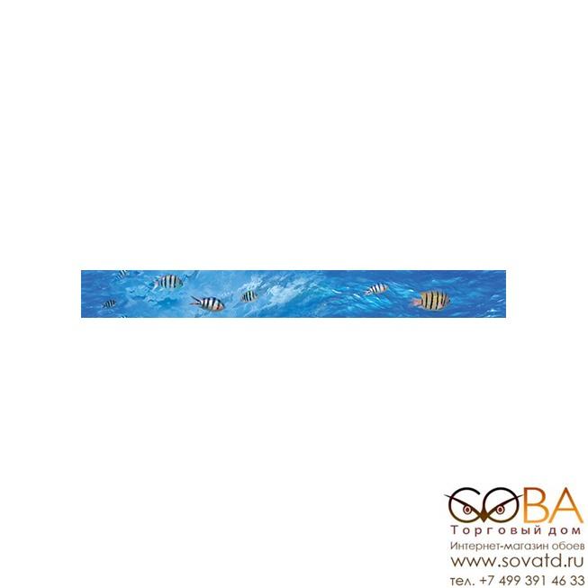 Бордюр Ocean Deep  B400D302 40х4,5 купить по лучшей цене в интернет магазине стильных обоев Сова ТД. Доставка по Москве, МО и всей России