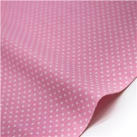 Горошек белый ярко-розовом
