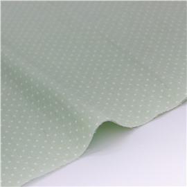 горошек белый на зеленом 1 мм