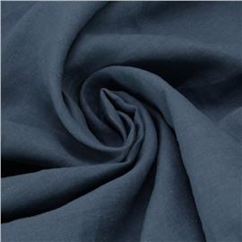 """Конопляная ткань цвет """"дымчатый синий"""" №77"""